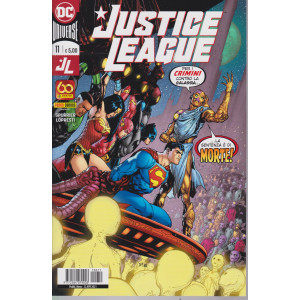Justice League -.    n. 11 - mensile -22 aprile  2021-