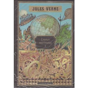 Jules Verne - L'isola misteriosa II - 11/6/2021 - settimanale - copertina rigida