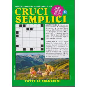 Cruci Semplici - n. 101- bimestrale - marzo - aprile 2021 - 68 pagine