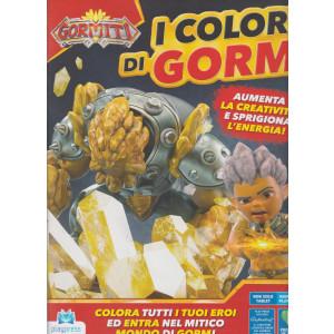 Gormiti-  I Colori di Gorm - n. 3 - bimestrale -aprile - maggio 2021