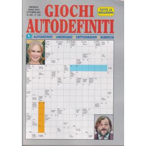Giochi Autodefiniti - n.304- mensile - ottobre 2021