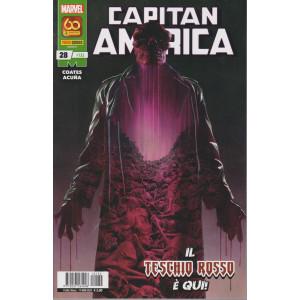Capitan America -n. 132 - Il teschio rosso è qui!- mensile - 11 marzo  2021