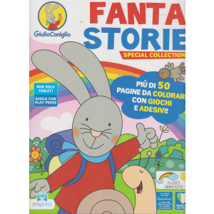 Giulio Coniglio Fanta storie special collection - n. 9 -gennaio - febbraio 2021 - bimestrale -