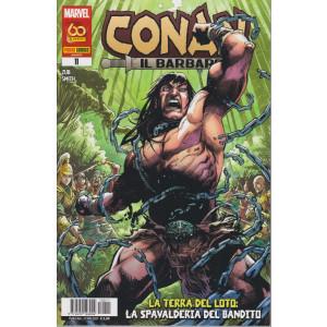 Conan il barbaro - n. 11 - La terra del loto: la spavalderia del bandito-  bimestrale - 27 maggio  2021