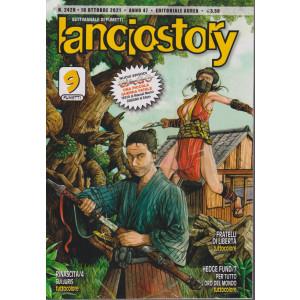 Lanciostory - n. 2428 - 18  ottobre 2021 - settimanale di fumetti
