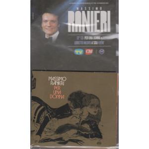 Le grandi collezioni musicali n. 7- 19 febbraio  2021 - Massimo Ranieri - 13°   cd-Per una donna     +    libretto inedito