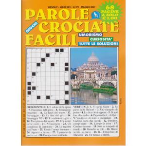 Parole crociate facili - n. 271 - mensile - maggio  2021 - 68 pagine