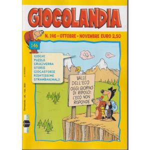Giocolandia - n. 146 -ottobre - novembre  2021 - mensile