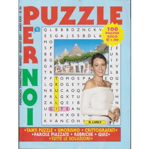 Puzzle per noi - n. 94 - trimestrale - marzo - maggio 2021 - 100 pagine