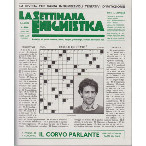 La Settimana Enigmistica - n. 4646 - 8/4/2021 - settimanale