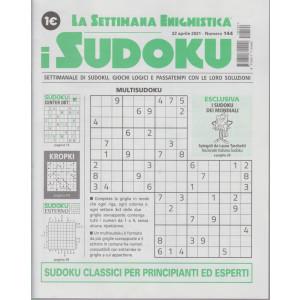 La settimana enigmistica - i sudoku - n. 144 - 22  aprile    2021 - settimanale