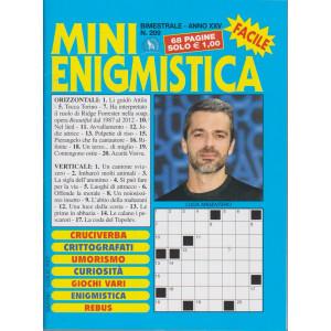 Mini Enigmistica - n. 209 - bimestrale - giugno - luglio 2021 - 68 pagine