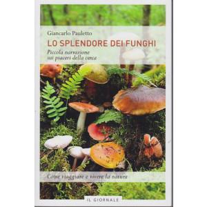 Lo splendore dei funghi - Giancarlo Pauletto- Piccola narrazione sui piaceri della cerca- 91 pagine