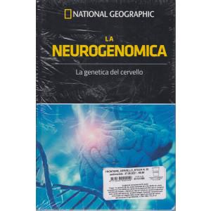 I grandi segreti del cervello - National Geographic -La neurogenomica-  n. 25  - settimanale- 27/8/2021 - copertina rigida