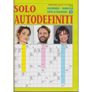 Solo autodefiniti - n. 299 - marzo 2021- mensile