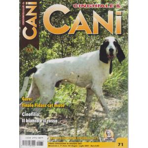 Cinghiale & Cani - n. 71 -giugno - luglio  2021 - bimestrale