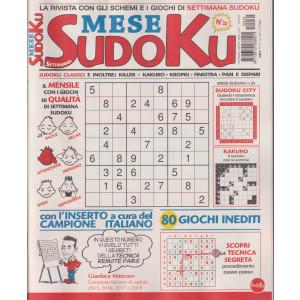 Settimana Mese sudoku- n. 32 - mensile -ottobre  2021