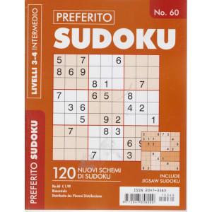 Preferito Sudoku - n. 60 - livelli 3-4 intermedio - bimestrale .