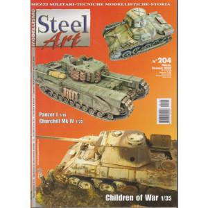 Steel Art - n. 204 - mensile - dicembre 2020 -