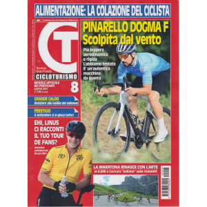 Cicloturismo - n. 8- mensile -agosto  2021