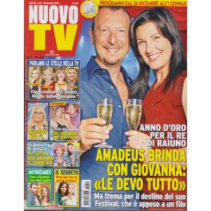 Nuovo Tv - n. 52  - 28  dicembre 2020 - settimanale