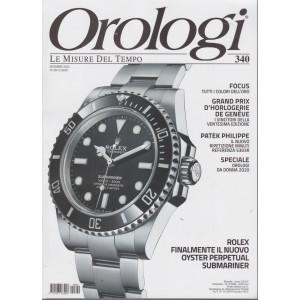 Orologi - n. 340 - dicembre  2020 - mensile