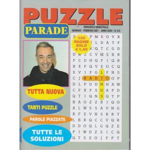 Puzzle Parade - n. 313 - bimestrale - gennaio - febbraio 2021 - 100 pagine