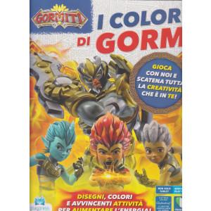 Gormiti-  I Colori di Gorm - n. 4 - bimestrale -giugno - luglio  2021