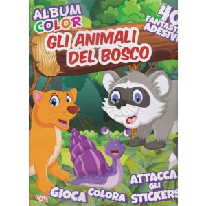 Toys2 News - Album color - Gli animali del bosco - n. 20 - bimestrale - 14 gennaio 2021