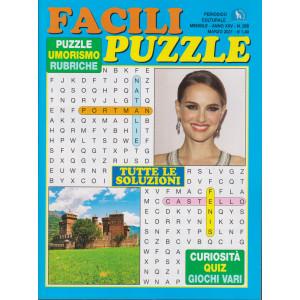 Facili puzzle - n. 288 - mensile - marzo 2021