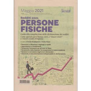 Novità lavoro 2021 -Redditi 2021 - Persone fisiche -  Maggio 2021  - n. 2 - bimestrale