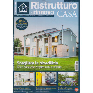 Ristrutturo e rinnovo casa - n. 54 - bimestrale - 10/6/2021