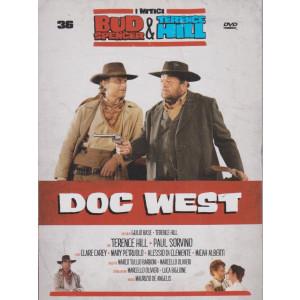 I Dvd di Sorrisi Speciale - n. 36 - I mitici Bud Spencer & Terence Hill  - trentaseiesima uscita -Doc west -  -settembre  2021