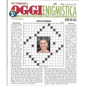 Settimanale Oggi Enigmistica - n. 22 - 2 giugno 2020 -