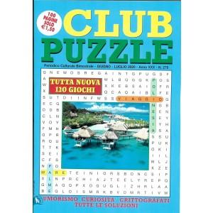 Club Puzzle - n. 276 - bimestrale - giugno - luglio 2020 - 100 pagine - 120 giochi