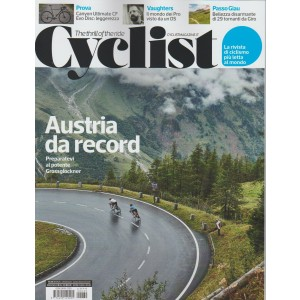 Cyclist Mensile n. 39 Dicembre 2019 - The thrill of the ride
