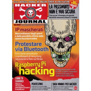 Hacker Journal - mensile n. 239 Dicembre 2019 Raspberry Pi hacking