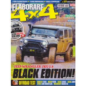 Elaborare 4X4 - n. 77 - gennaio - febbraio 2021- bimestrale