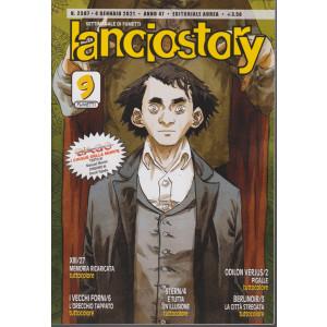 Lanciostory - n. 2387 - 4 gennaio 2021 - settimanale di fumetti
