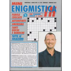 Mini Enigmistica In - n. 104 - bimestrale - gennaio - febbraio 2021 - 68 pagine