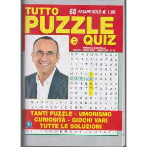 Tutto Puzzle e  Quiz - n. 72 - bimestrale -marzo - aprile 2021