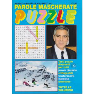 Parole mascherate puzzle - n. 479 - marzo 2021 - mensile