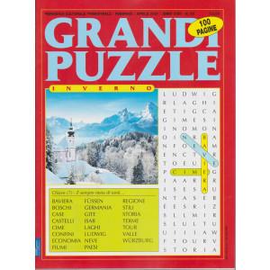 Grandi Puzzle - Inverno-  n. 89 - trimestrale - febbraio - aprile 2021 - 100 pagine