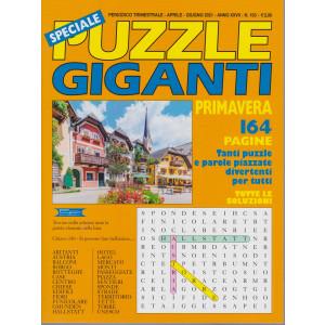 Speciale Puzzle Giganti primavera    -n.103 - trimestrale -aprile - giugno  2021- 164 pagine