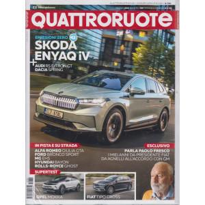 Quattroruote +Q Prove Citycar  - n. 789 maggio 2021 - mensile - 2 riviste