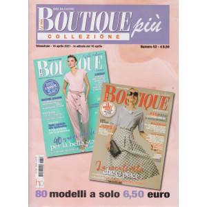 La mia boutique più collezione - n. 52- trimestrale - 16 aprile  2021 - 2 numeri