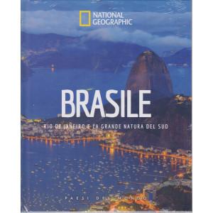 National Geographic - Brasile - Rio de Janeiro e la grande natura del sud  n. 33 - 16/4/2021 - settimanale - copertina rigida