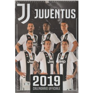 Calendario ufficiale Juventus 2018 - cm. 29 x 42 con spirale