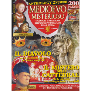 Medioevo Misterioso Anthology n. 6 - bimestrale - maggio - giugno 2021  - 200 pagine - 2 numeri