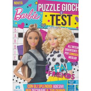 Barbie puzzle giochi e test - n. 1 - marzo - aprile 2021 - bimestrale
